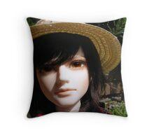 Shin Akasuke Throw Pillow