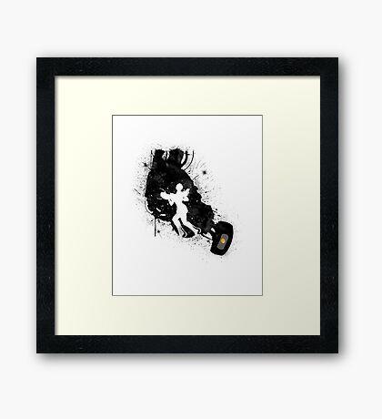 Still Alive (Black Ver.) Framed Print