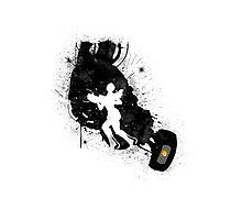 Still Alive (Black Ver.) Photographic Print