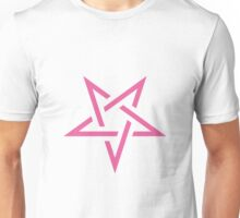 Pink Pentagram Unisex T-Shirt