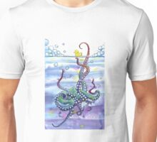 Bath Time Octopus Unisex T-Shirt