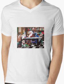 Santa's workshop Mens V-Neck T-Shirt