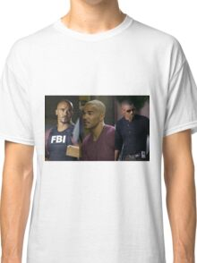 Derek Morgan Criminal Minds Classic T-Shirt