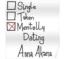 Mentally Dating Anna Akana Poster