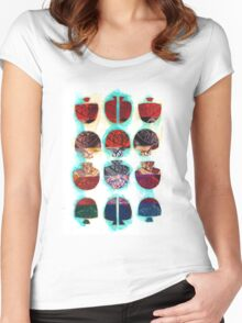Multifaceted No.2 (Light, Time & Facade Series) Women's Fitted Scoop T-Shirt