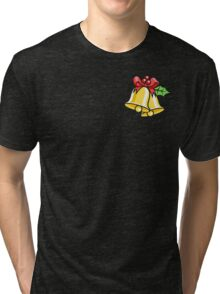 Christmas Bells Tri-blend T-Shirt