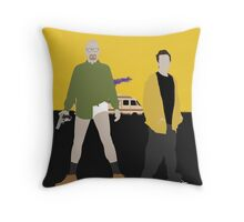 Walter and Jesse Throw Pillow