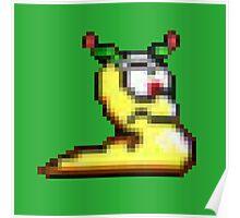 Retro Gaming Pixel Art  Poster