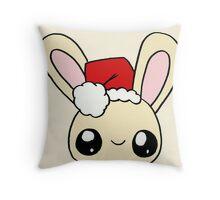 Santa Bunny Throw Pillow