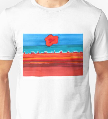 Desert Cities original painting Unisex T-Shirt