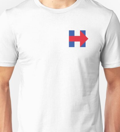 Hillary Clinton (H) Unisex T-Shirt