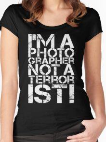 Photographer Quotes Women's Fitted Scoop T-Shirt