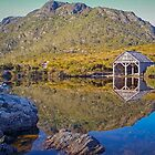 Boatshed Reflections by TonyCrehan