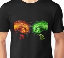 AMD vs Nvidia Unisex T-Shirt