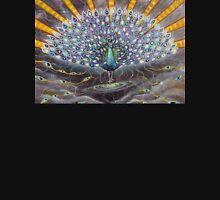 Powerful Cosmic Peacock Unisex T-Shirt