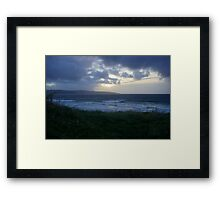 Gwithian Sunset Framed Print