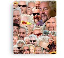 Fieri mashup Canvas Print