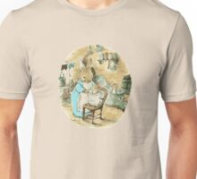 Peter Bunny in the Bath Unisex T-Shirt