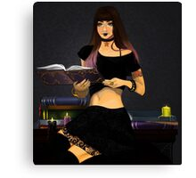 wicked witchcraft Canvas Print