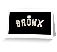 THE BRONX LETTERPRESS Greeting Card