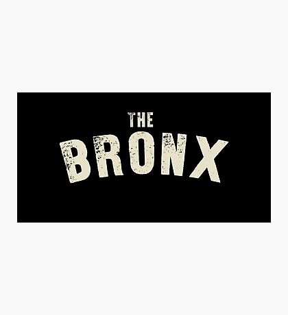THE BRONX LETTERPRESS Photographic Print