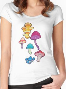 Fun with Fungi Women's Fitted Scoop T-Shirt