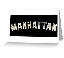 MANHATTAN LETTERPRESS Greeting Card