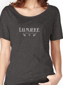 Raising the Bar: Lumiere Lounge Line Women's Relaxed Fit T-Shirt
