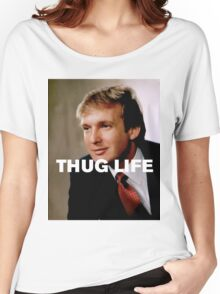 Throwback - Donald Trump Women's Relaxed Fit T-Shirt