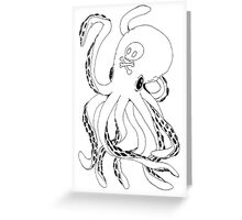 OctoPoison Greeting Card