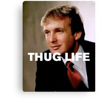 Throwback - Donald Trump Canvas Print