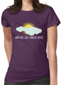 Above Us Only Sky - John Lennon Womens Fitted T-Shirt