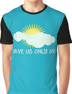 Above Us Only Sky - John Lennon Graphic T-Shirt