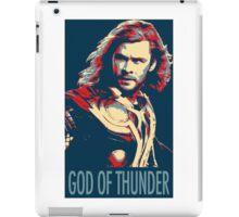 God of Thunder iPad Case/Skin