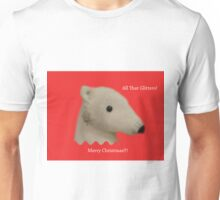 All That Glitters: Polar Bear with Ear-ring Unisex T-Shirt