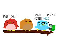 Tweeting is A Little Different These Days by rexio