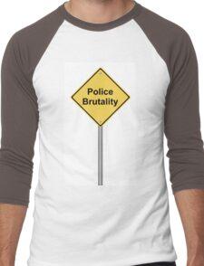 Police Brutality Men's Baseball ¾ T-Shirt