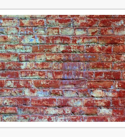 Brick Wall Sticker