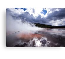 The Earth Evaporates - Travel Photography Canvas Print