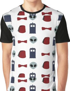 Doctor Who 11th Doctor Pattern  Graphic T-Shirt