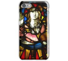 Saint George the Dragon Slayer in Stained Glass iPhone Case/Skin
