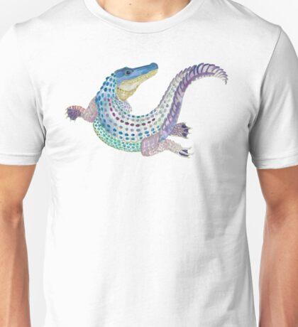 Watercolor Alligator Unisex T-Shirt