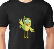 Funny Lovely Vector Graphic Birds For Birds Animal Lovers Unisex T-Shirt