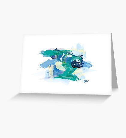 Nantucket Seashells Greeting Card