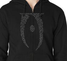 Camiseta de Skyrim, Oblivion Zipped Hoodie