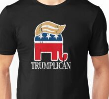 Funny and Bold Trump Elephant with Hair - TRUMPLICAN Unisex T-Shirt