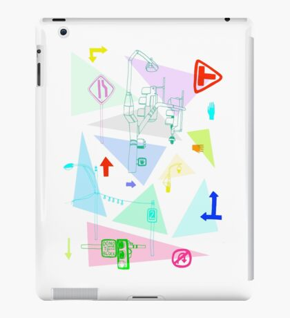 Road maps iPad Case/Skin