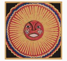 Huichol Native American Art, The sun Kids Tee