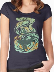 Thresher Shark Women's Fitted Scoop T-Shirt