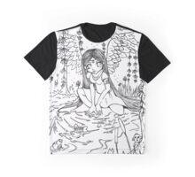 Angel Falls Colouring Design  Graphic T-Shirt